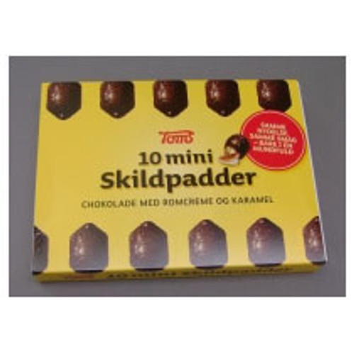 Mini Chocolate Turtles (Mini Skildpadder) - 10pc (120g)