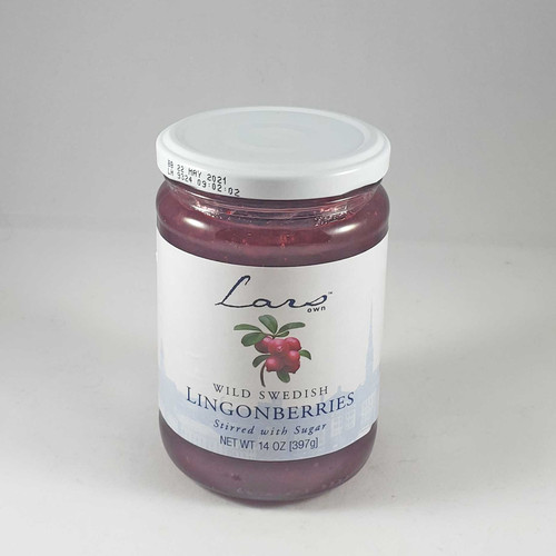 Wild Swedish Lingonberries - 14.1oz (400g)