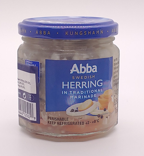 Traditional Marinated Herring (Sild) - 240g (8.5oz)