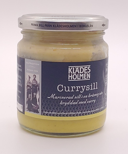 Herring in Curry (Karrysild) - 250 gr (8.8oz)