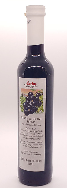 NEW - Black Currant Syrup - 17oz (0.5L)