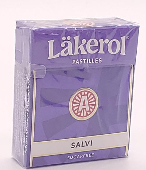 NEW - Salvi Pastilles (Licorice/Lakrids) - 0.88oz (25g)