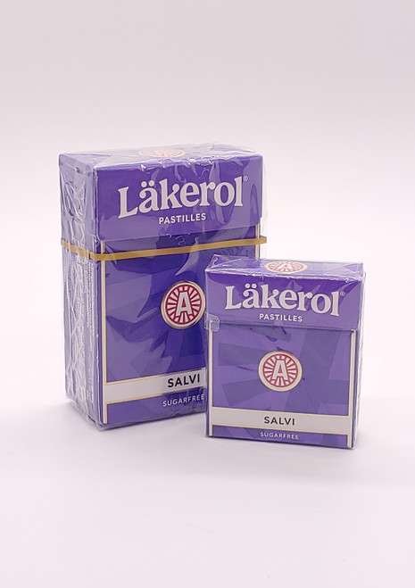 NEW - JUMBO Salvi Pastilles (Licorice/Lakrids) - 2.64oz (75g)