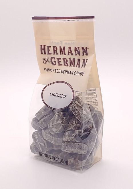 NEW - Imported German Hard Candy - Licorice (Lakrids) - 5.29oz (150g)