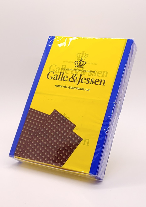 NEW - Sandwich Dark Chocolate (Mørk Pålægschokolade) - 216g (7.6oz)