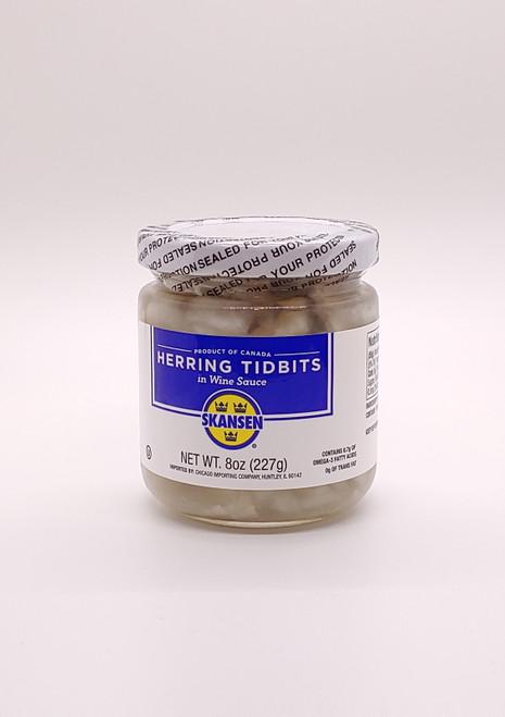 Herring Tidbits in Wine Sauce (Sild) - 227g (8oz)