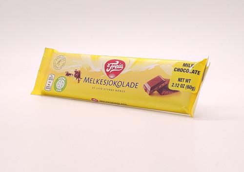 NEW - Freia Milk Chocolate Bar (Mælkechokolade) - 60g (2.12oz)
