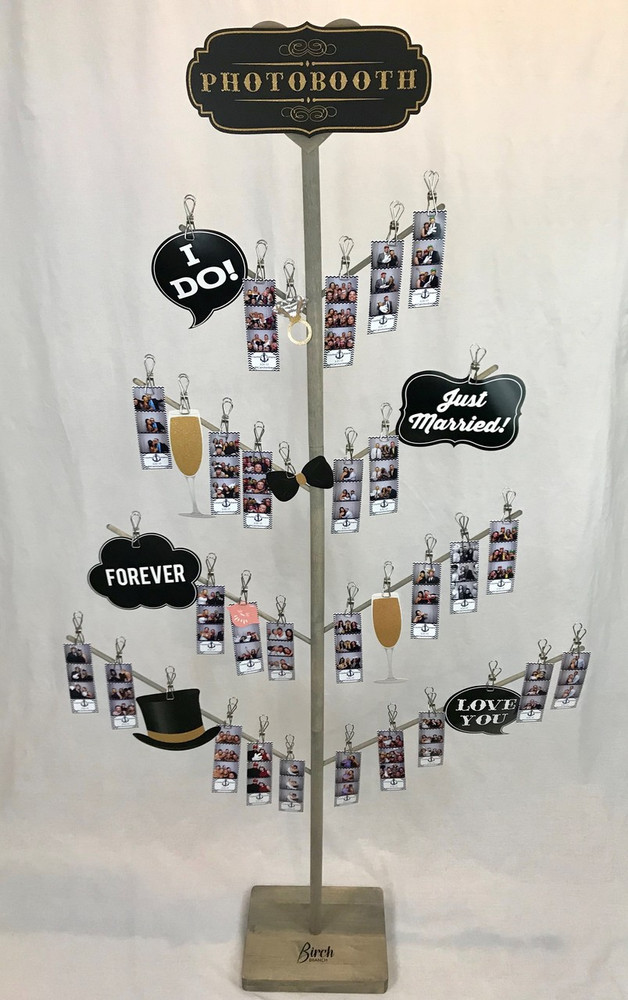 Wedding Photo booth Display Stand