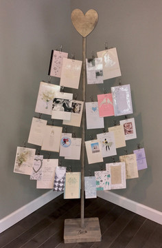 Wedding Card Tree Stand
