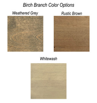 Birch Branch Star Topper Color Options