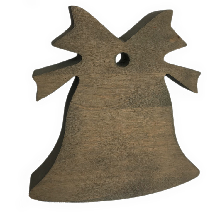 Birch Branch Card & Photo Tree Stand Bell Topper