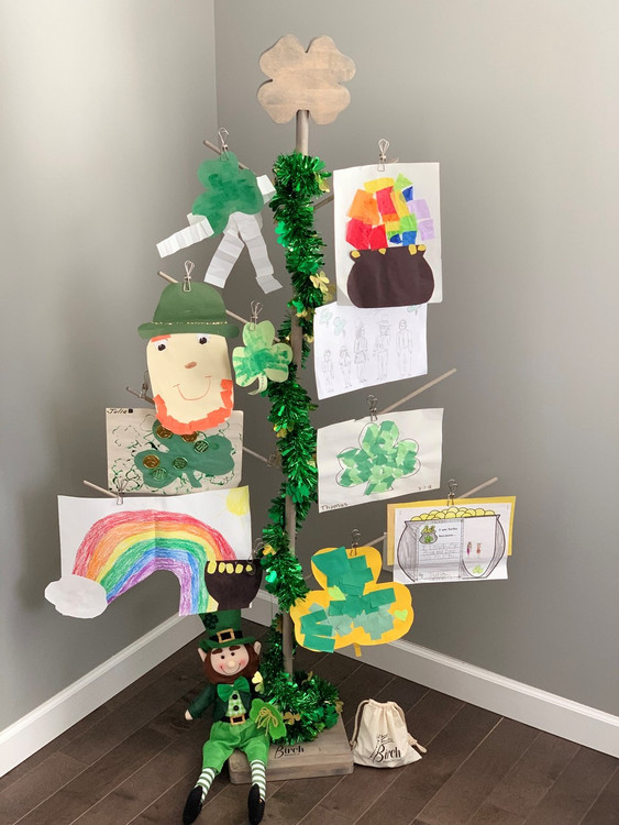 St. Patrick's Day Display