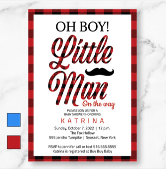 Little Man On His Way! (as low as $1.50)