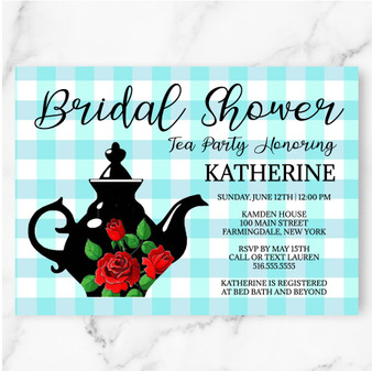 Tea Pot Bridal Shower (as low as $1.48)