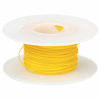 Stranded Copper Wire - 16 AWG - 100' - YELLOW