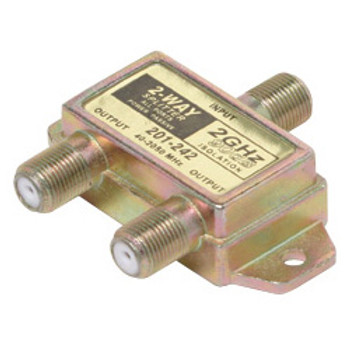 2.4Ghz Satellite Splitter 2 Way DC Power Passing To All Ports