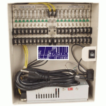 18-Camera 12VDC Power Supply Box
