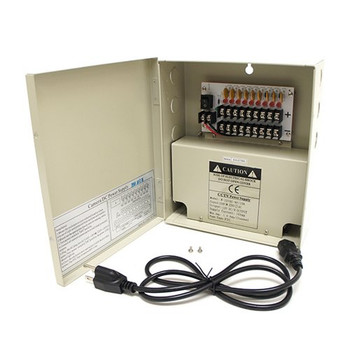 9 channel 12V DC 10Amp Power Supply Distribution Box