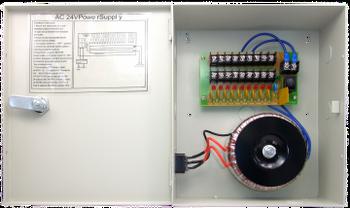 9-Camera 24VAC 10A Power Distribution Box