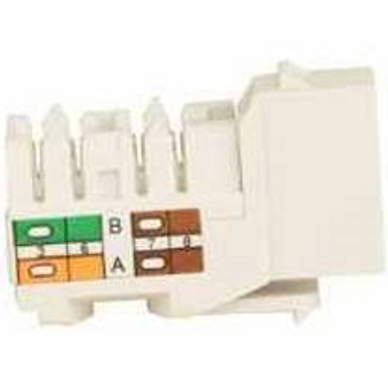 Cat 5e Keystone KwikJack - White • 25pc Contractor Pack