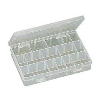 Plastic Box w/Dividers 8 X 5.25 X 1.5