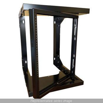 12U Swivel Rack - Adjustable Depth