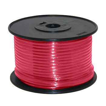 14AWG Stranded Copper Wire Red 100ft