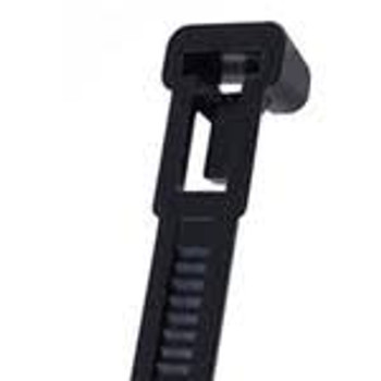 8in. Releasable UV Cable Ties 50lb 100pk