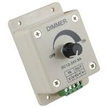 Knob Control 96W LED Dimmer 12V 8A