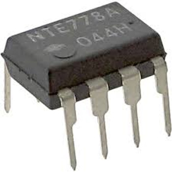 IC Dual Operational Amplifier, 8 Lead DIP