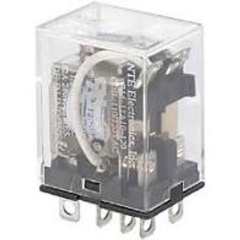 Relay - DPDT 12VAC 10Amp Plug-In or Solder Terminals