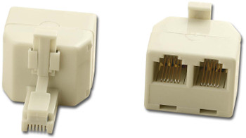 Modular Duplex Adapter 6IN 6&6OUT