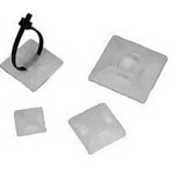 "Adhesive Tie Mount 4 Way to .12"" Width 100 Pack"