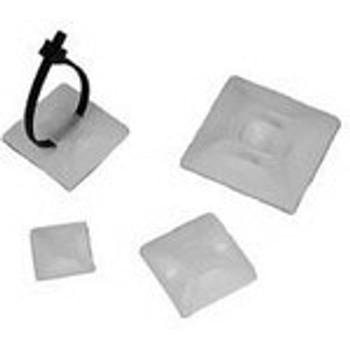 Cable Accessories Self Adhesive Tie Mount Nylon 6/6 Black