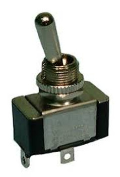 SPST, (ON)-OFF, H.D. Bat Handle Toggle Switch