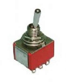 SPDT (ON)-OFF-(ON) Mini Toggle Switch