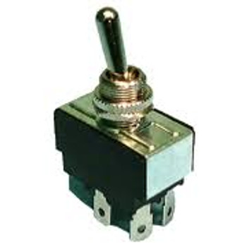 DPST, ON-OFF, H.D. Bat Handle Toggle Switch