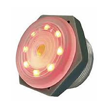 3-15V DC Red LED Lighted, Intermittent Piezo Sounder ~ 95dB
