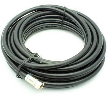 25' RG-6 Quad Shield Coax Cable