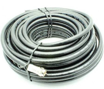 50' RG-6 Quad Shield Coax Cable