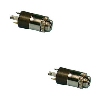 2.5mm Stereo SubMini Jack 2/pkg
