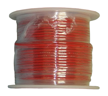 Solid Copper Wire - 22 AWG - 100' - RED