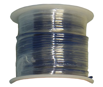 Solid Core Copper Wire - 22 AWG - 100' - BLUE