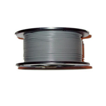 Solid Core Copper Wire - 22 AWG - 100' - GREY