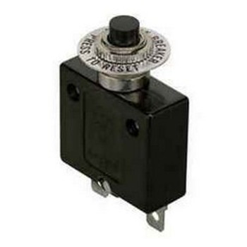 Circuit Breaker, Push Button 15 Amps