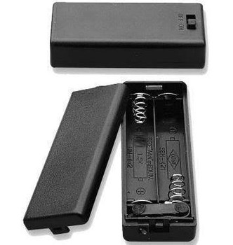 (2) AAA Enclosed Battery Case w/Leads