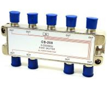 "High ""Q"" 8-Way Satellite Splitter"