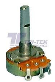 10K Ohm Linear Taper Solder Lug Terminal Potentiometer