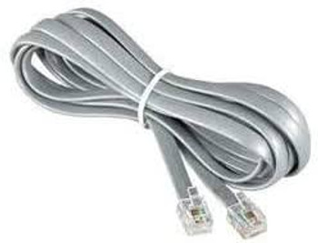 Cable Assembly Extension 7.62m 26AWG 6 POS Modular Plug to 6 POS Modular Plug PL-PL