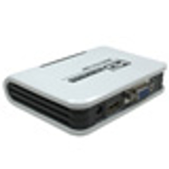 HDMI to VGA + L/R Audio Adaptor